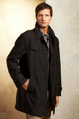 Free Autograph Mac -  Understated urban styling on par with current trends, the contemporary design of this water repellent trench coat makes it a decidedly versatile choice for chillier days