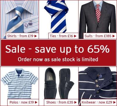 charles tyrwhitt 65% sale